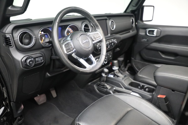 Used 2020 Jeep Wrangler Unlimited Sahara for sale Sold at Rolls-Royce Motor Cars Greenwich in Greenwich CT 06830 19