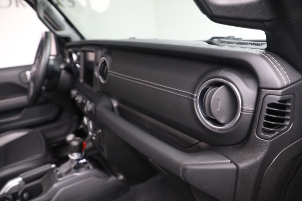 Used 2020 Jeep Wrangler Unlimited Sahara for sale Sold at Rolls-Royce Motor Cars Greenwich in Greenwich CT 06830 21