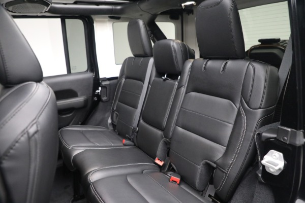 Used 2020 Jeep Wrangler Unlimited Sahara for sale Sold at Rolls-Royce Motor Cars Greenwich in Greenwich CT 06830 25