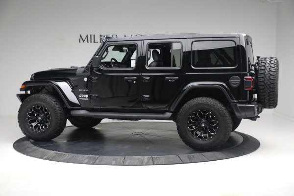 Used 2020 Jeep Wrangler Unlimited Sahara for sale Sold at Rolls-Royce Motor Cars Greenwich in Greenwich CT 06830 5