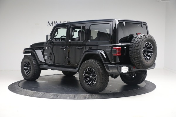 Used 2020 Jeep Wrangler Unlimited Sahara for sale Sold at Rolls-Royce Motor Cars Greenwich in Greenwich CT 06830 6