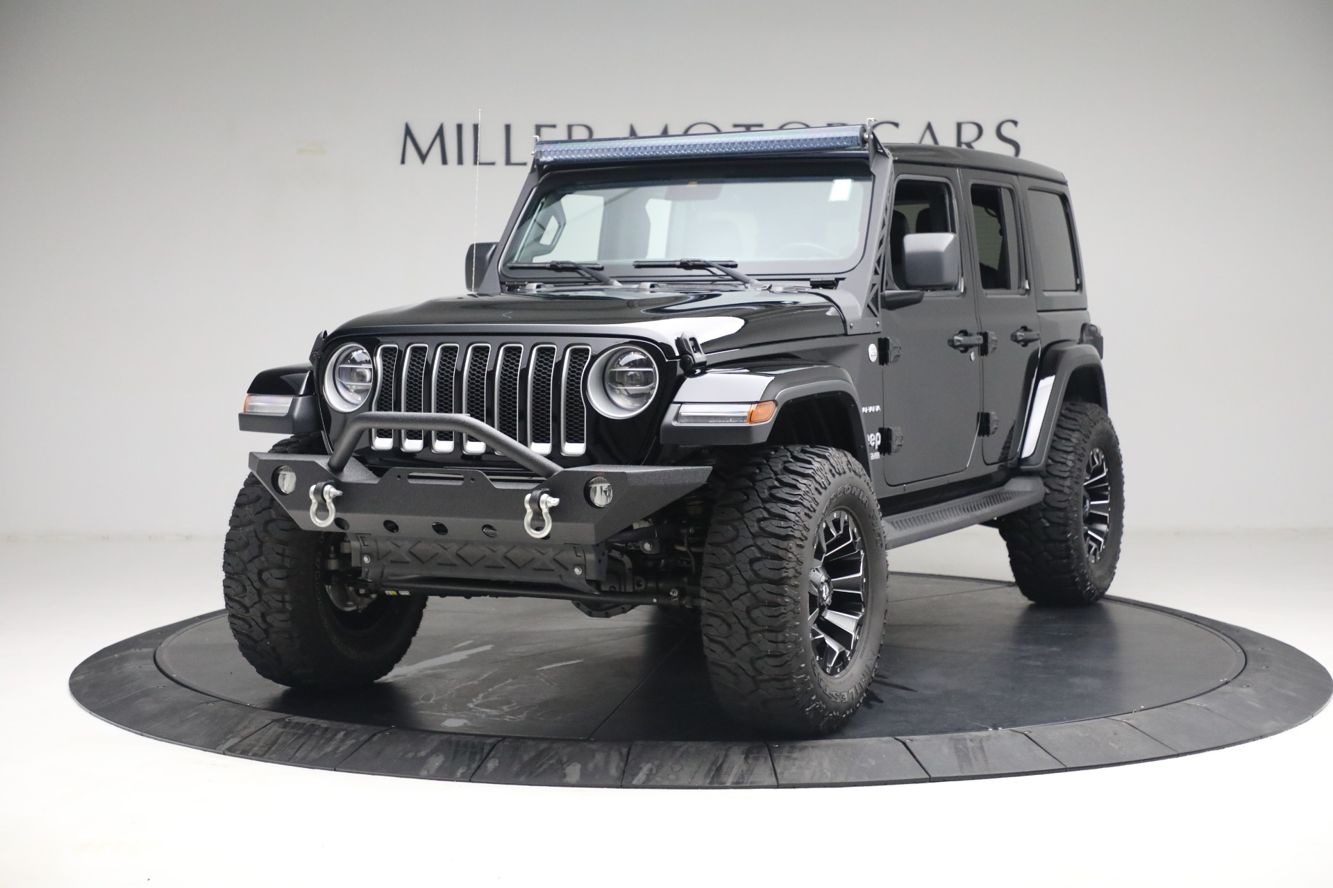Used 2020 Jeep Wrangler Unlimited Sahara for sale Sold at Rolls-Royce Motor Cars Greenwich in Greenwich CT 06830 1