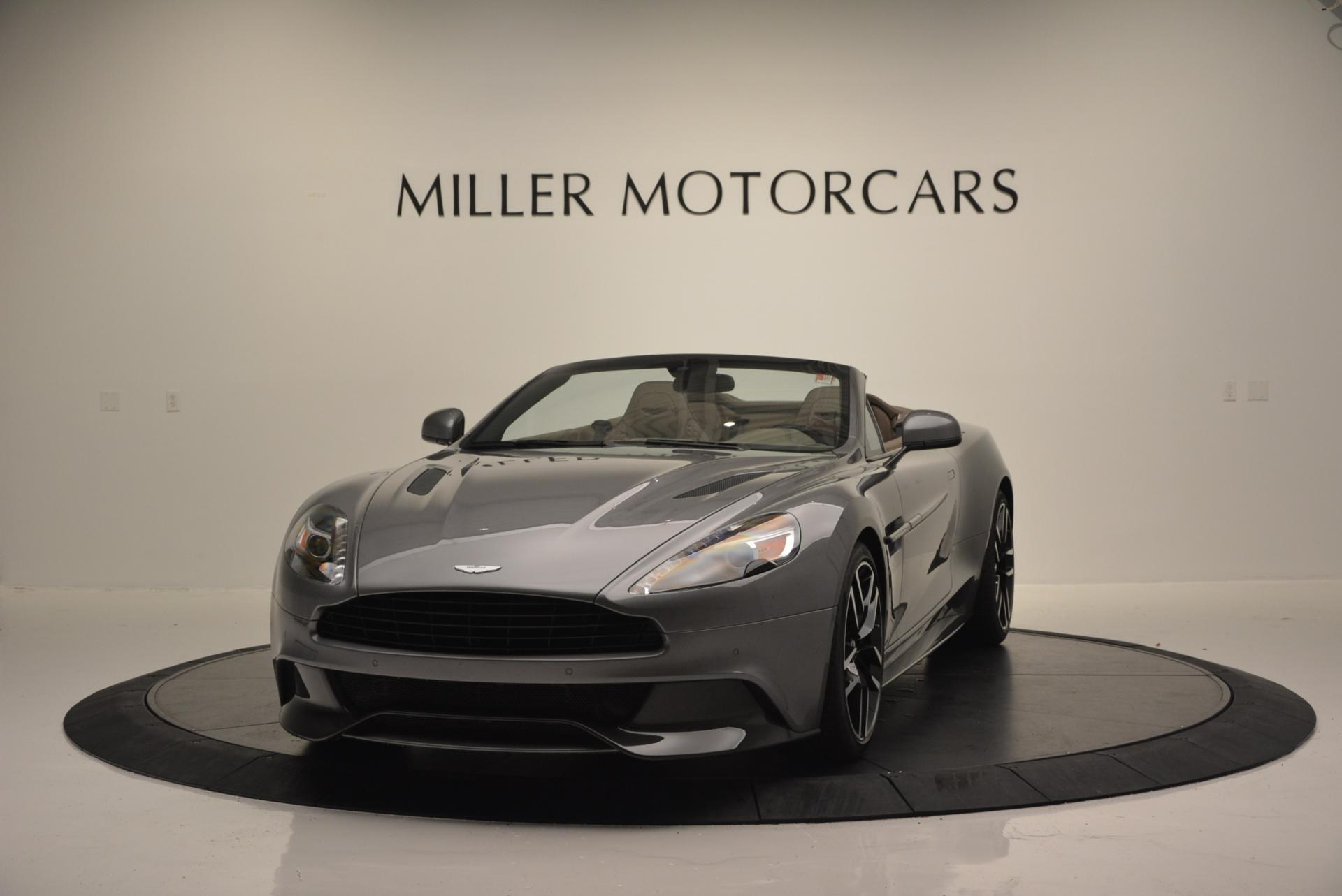 New 2016 Aston Martin Vanquish Volante for sale Sold at Rolls-Royce Motor Cars Greenwich in Greenwich CT 06830 1