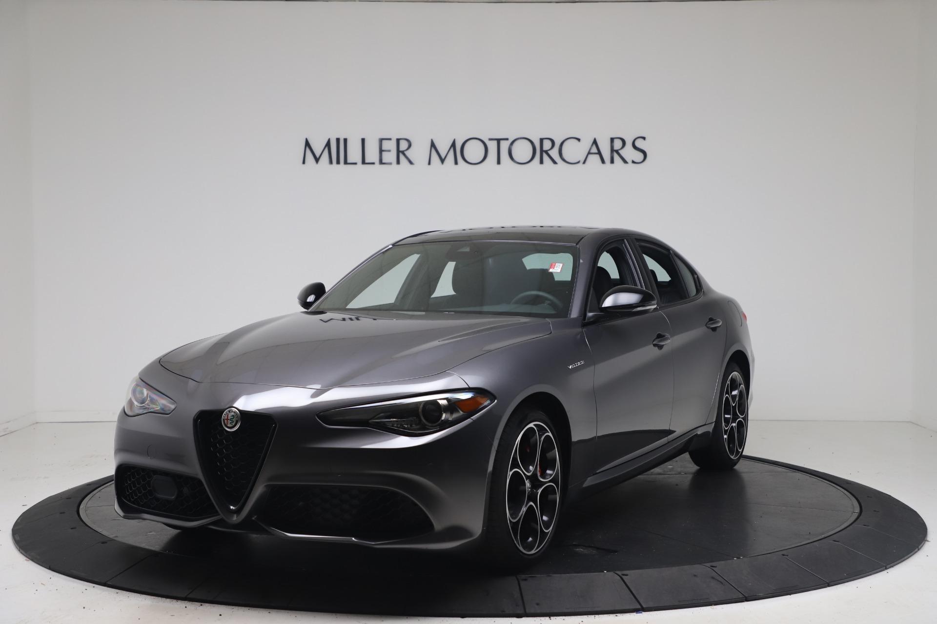 New 2022 Alfa Romeo Giulia Veloce for sale $49,245 at Rolls-Royce Motor Cars Greenwich in Greenwich CT 06830 1