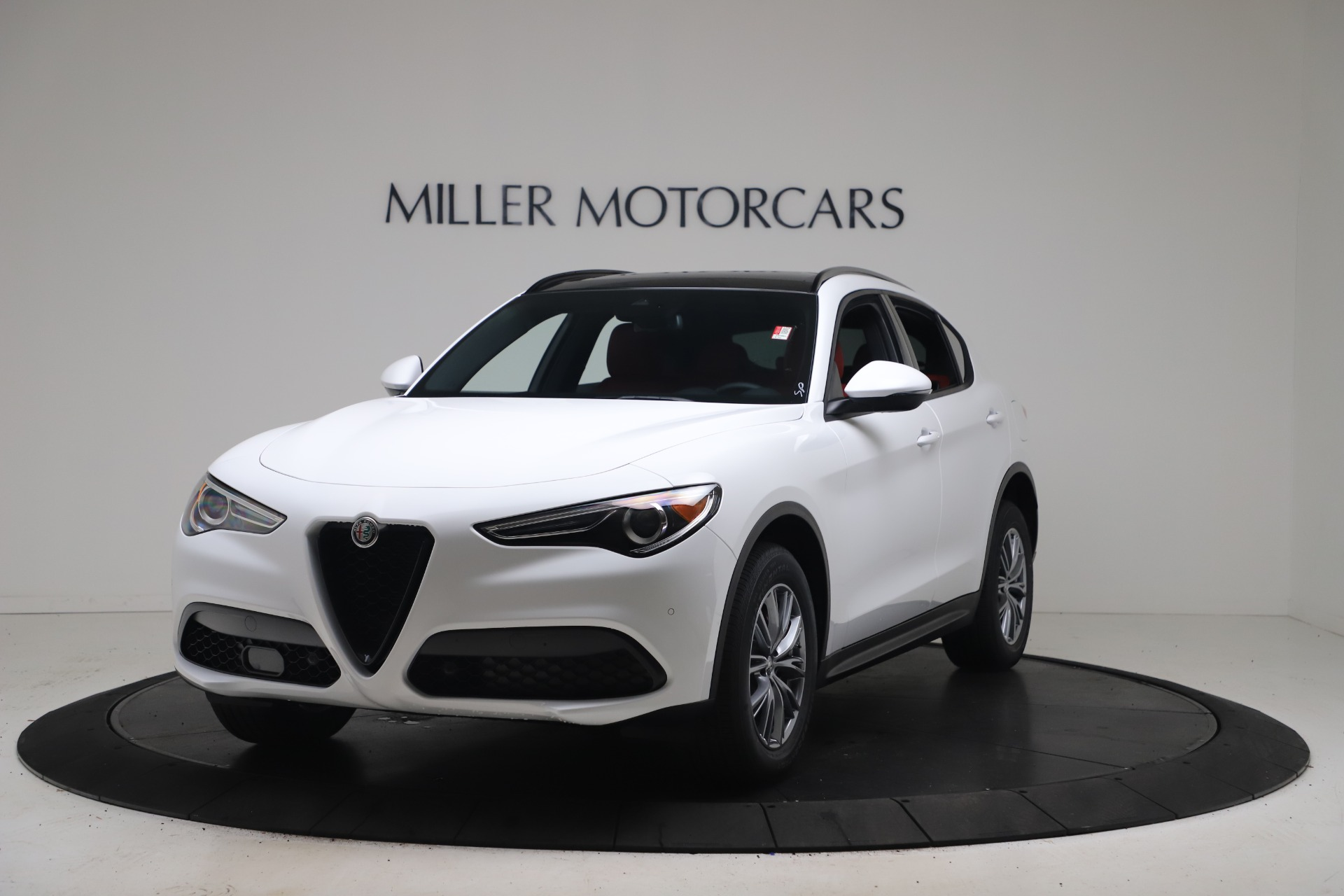 New 2022 Alfa Romeo Stelvio Sprint for sale $52,245 at Rolls-Royce Motor Cars Greenwich in Greenwich CT 06830 1