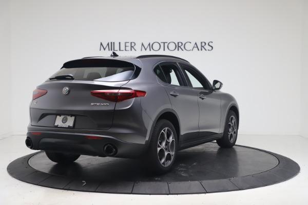 New 2022 Alfa Romeo Stelvio Sprint for sale $52,305 at Rolls-Royce Motor Cars Greenwich in Greenwich CT 06830 7
