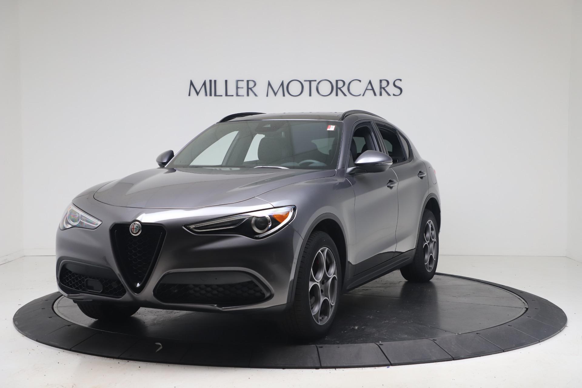 New 2022 Alfa Romeo Stelvio Sprint for sale $52,305 at Rolls-Royce Motor Cars Greenwich in Greenwich CT 06830 1