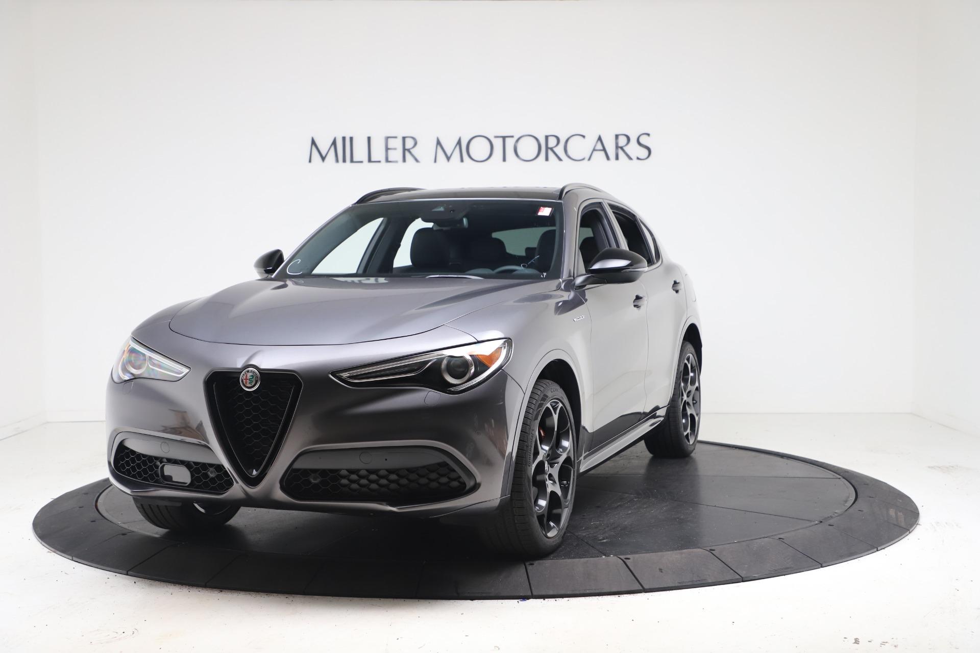 New 2022 Alfa Romeo Stelvio Veloce for sale $55,605 at Rolls-Royce Motor Cars Greenwich in Greenwich CT 06830 1