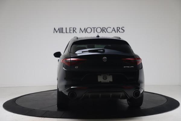 New 2022 Alfa Romeo Stelvio Veloce for sale $57,405 at Rolls-Royce Motor Cars Greenwich in Greenwich CT 06830 6