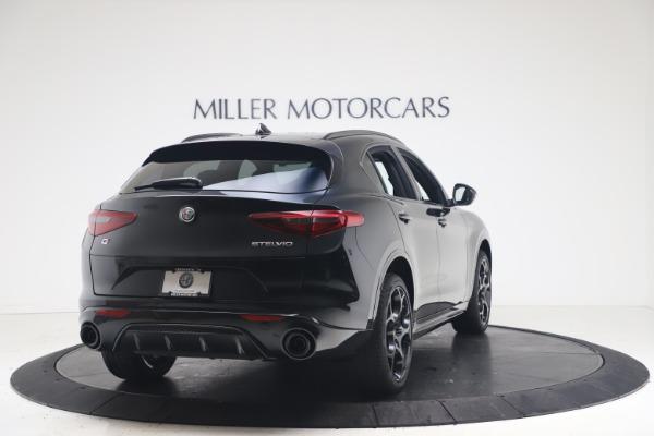 New 2022 Alfa Romeo Stelvio Veloce for sale $57,405 at Rolls-Royce Motor Cars Greenwich in Greenwich CT 06830 7
