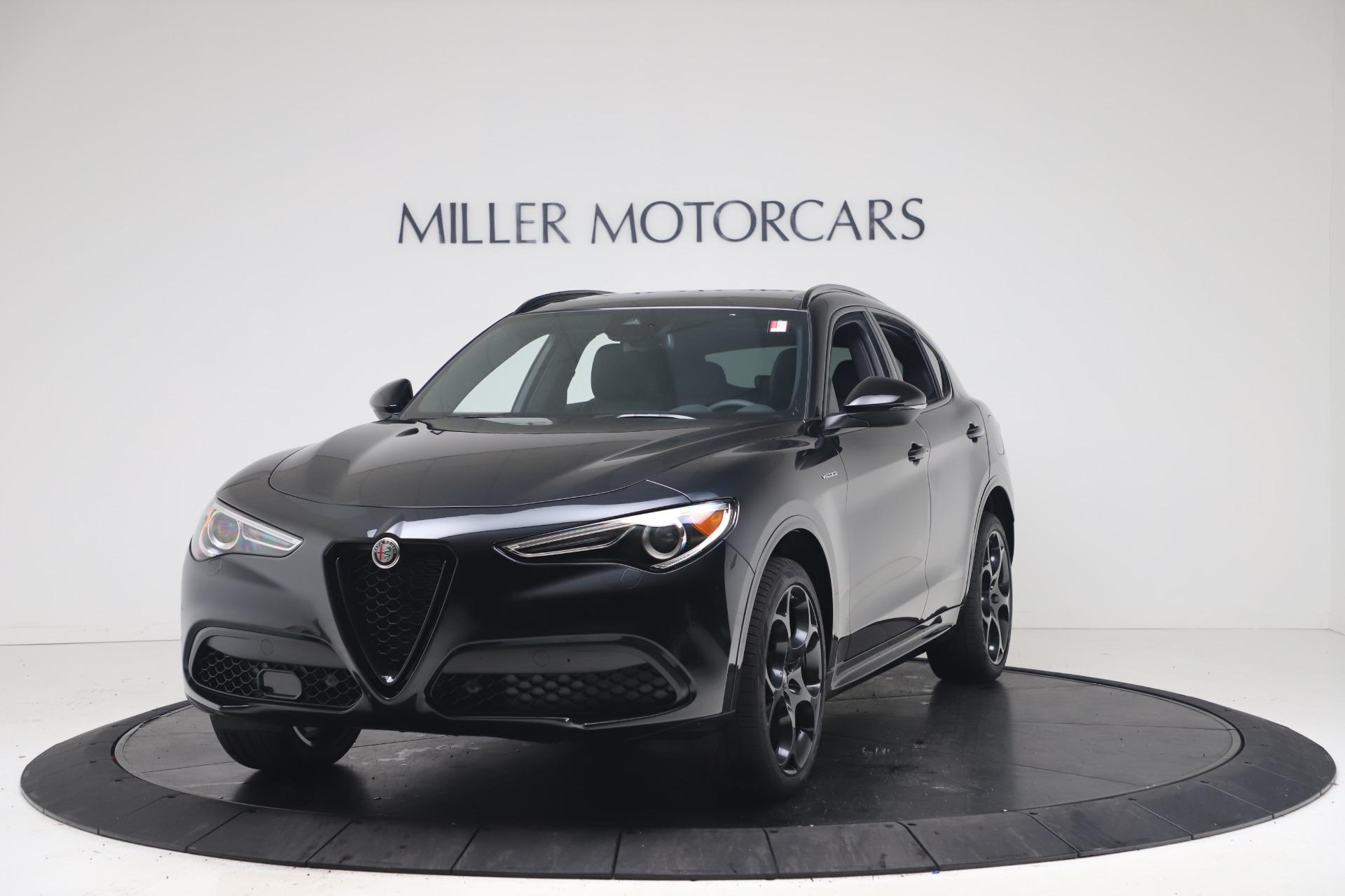 New 2022 Alfa Romeo Stelvio Veloce for sale $57,405 at Rolls-Royce Motor Cars Greenwich in Greenwich CT 06830 1