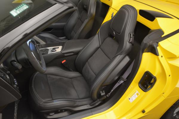 Used 2014 Chevrolet Corvette Stingray Z51 for sale Sold at Rolls-Royce Motor Cars Greenwich in Greenwich CT 06830 16
