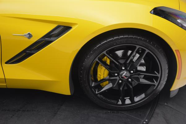 Used 2014 Chevrolet Corvette Stingray Z51 for sale Sold at Rolls-Royce Motor Cars Greenwich in Greenwich CT 06830 21