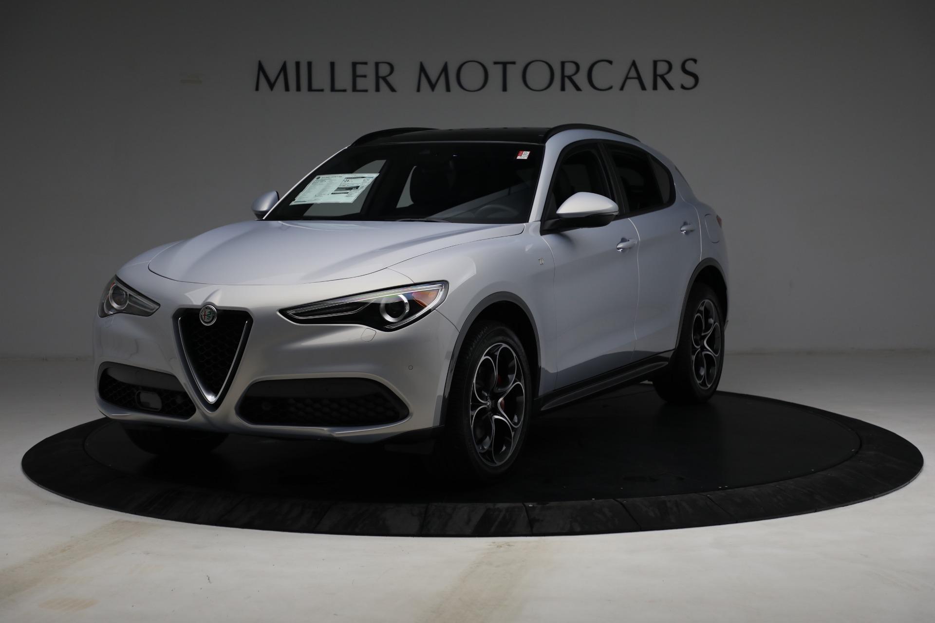 New 2022 Alfa Romeo Stelvio Ti for sale $55,805 at Rolls-Royce Motor Cars Greenwich in Greenwich CT 06830 1