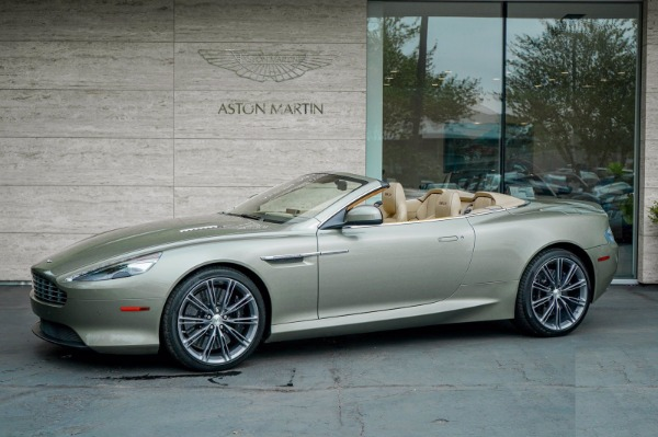 Used 2015 Aston Martin DB9 Volante for sale $119,990 at Rolls-Royce Motor Cars Greenwich in Greenwich CT 06830 2