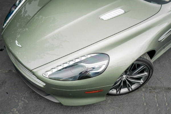 Used 2015 Aston Martin DB9 Volante for sale $119,990 at Rolls-Royce Motor Cars Greenwich in Greenwich CT 06830 4