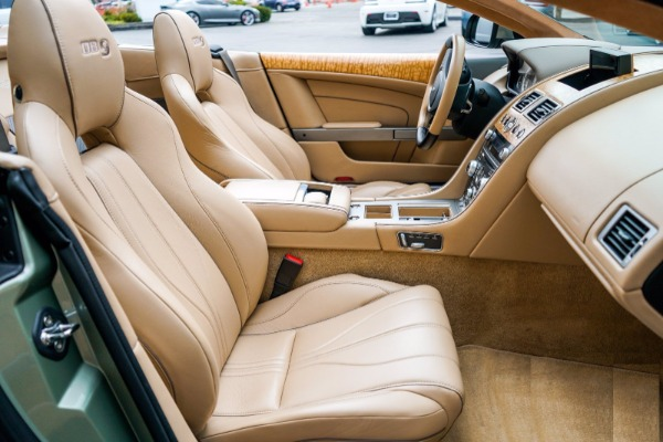 Used 2015 Aston Martin DB9 Volante for sale $119,990 at Rolls-Royce Motor Cars Greenwich in Greenwich CT 06830 6