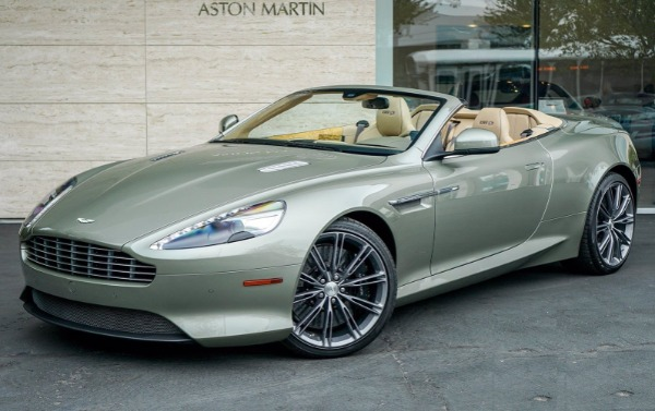 Used 2015 Aston Martin DB9 Volante for sale $119,990 at Rolls-Royce Motor Cars Greenwich in Greenwich CT 06830 1