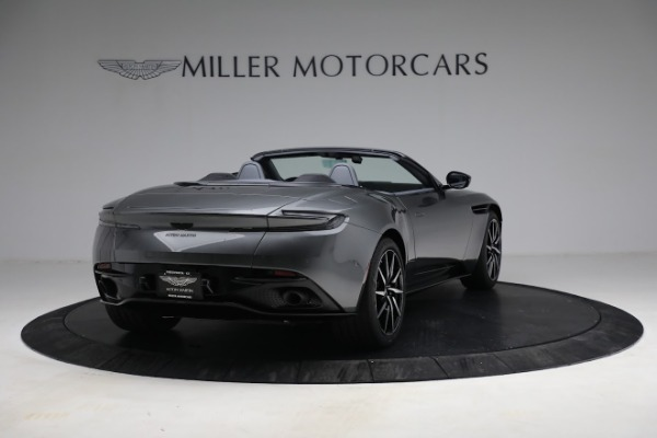 New 2021 Aston Martin DB11 Volante for sale $260,286 at Rolls-Royce Motor Cars Greenwich in Greenwich CT 06830 8