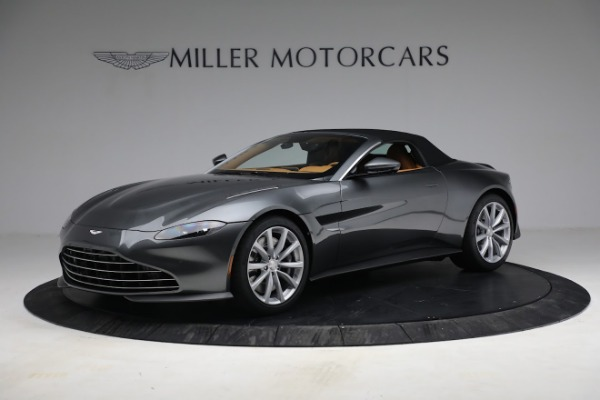New 2021 Aston Martin Vantage Roadster for sale $174,586 at Rolls-Royce Motor Cars Greenwich in Greenwich CT 06830 18