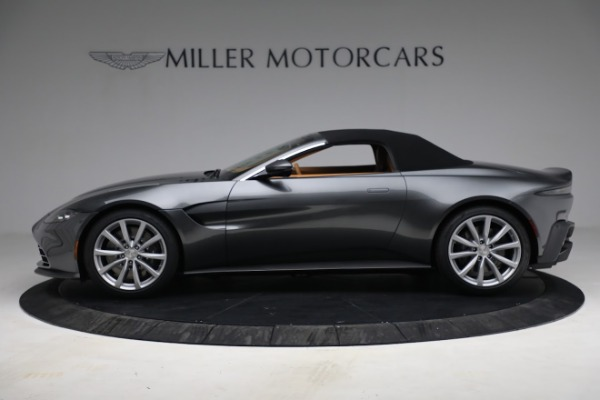 New 2021 Aston Martin Vantage Roadster for sale $174,586 at Rolls-Royce Motor Cars Greenwich in Greenwich CT 06830 19