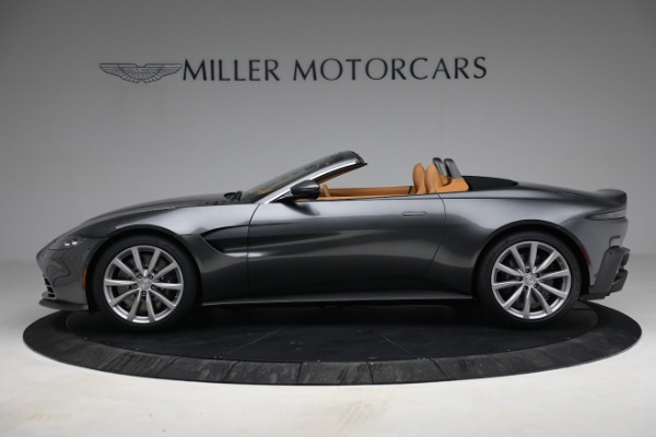 New 2021 Aston Martin Vantage Roadster for sale $174,586 at Rolls-Royce Motor Cars Greenwich in Greenwich CT 06830 2