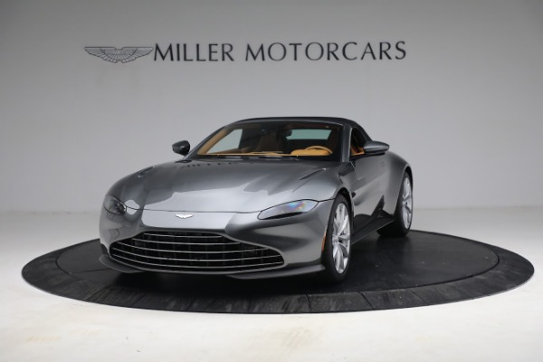 New 2021 Aston Martin Vantage Roadster for sale $174,586 at Rolls-Royce Motor Cars Greenwich in Greenwich CT 06830 23