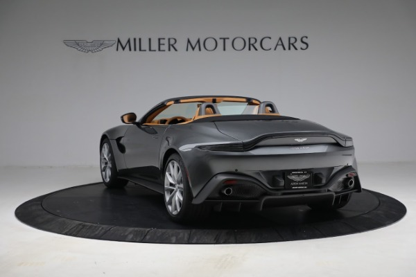 New 2021 Aston Martin Vantage Roadster for sale $174,586 at Rolls-Royce Motor Cars Greenwich in Greenwich CT 06830 4