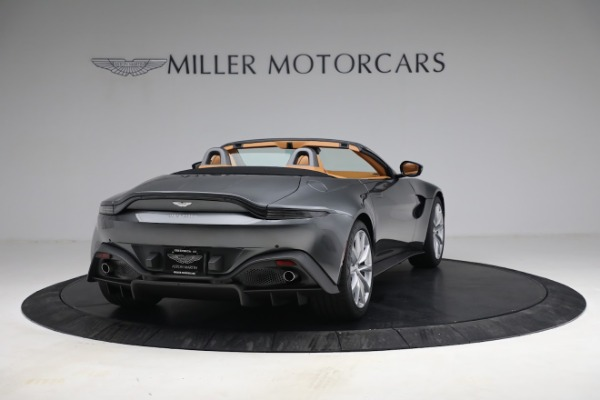 New 2021 Aston Martin Vantage Roadster for sale $174,586 at Rolls-Royce Motor Cars Greenwich in Greenwich CT 06830 6
