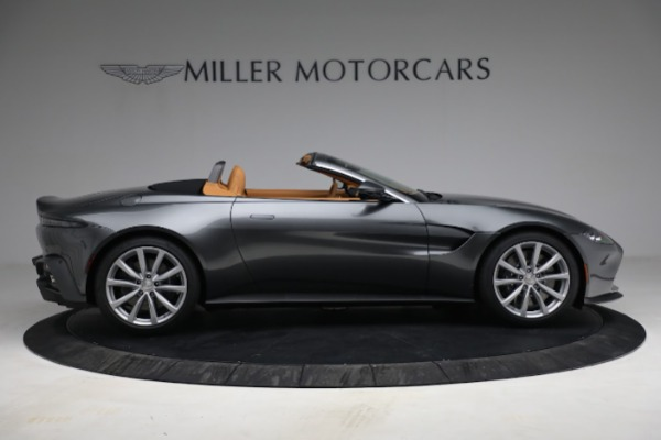 New 2021 Aston Martin Vantage Roadster for sale $174,586 at Rolls-Royce Motor Cars Greenwich in Greenwich CT 06830 8