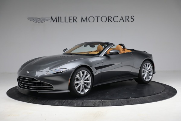 New 2021 Aston Martin Vantage Roadster for sale $174,586 at Rolls-Royce Motor Cars Greenwich in Greenwich CT 06830 1