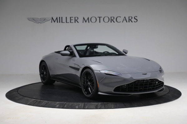 New 2021 Aston Martin Vantage Roadster for sale $180,286 at Rolls-Royce Motor Cars Greenwich in Greenwich CT 06830 10