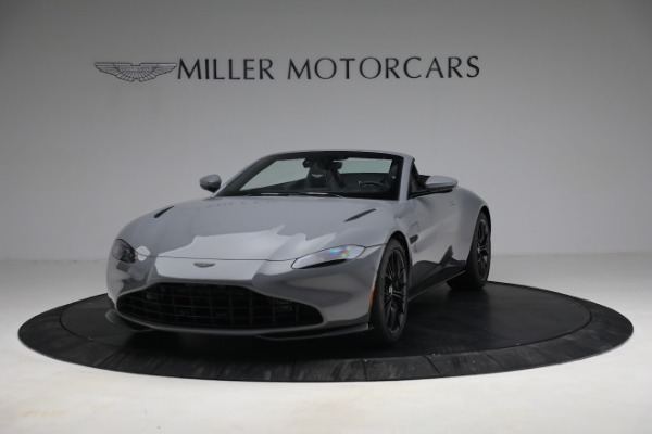 New 2021 Aston Martin Vantage Roadster for sale $180,286 at Rolls-Royce Motor Cars Greenwich in Greenwich CT 06830 12