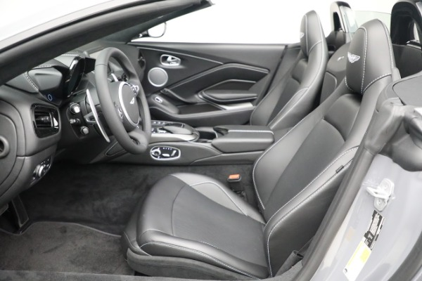 New 2021 Aston Martin Vantage Roadster for sale $180,286 at Rolls-Royce Motor Cars Greenwich in Greenwich CT 06830 14