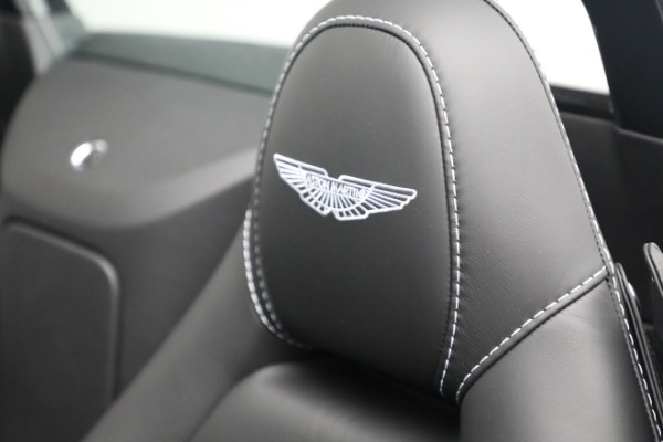 New 2021 Aston Martin Vantage Roadster for sale $180,286 at Rolls-Royce Motor Cars Greenwich in Greenwich CT 06830 17