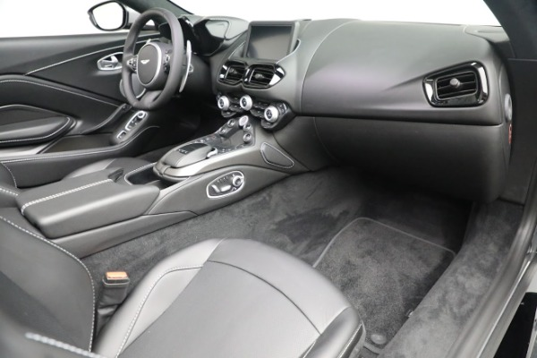 New 2021 Aston Martin Vantage Roadster for sale $180,286 at Rolls-Royce Motor Cars Greenwich in Greenwich CT 06830 18