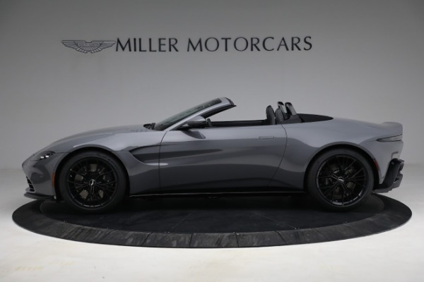 New 2021 Aston Martin Vantage Roadster for sale $180,286 at Rolls-Royce Motor Cars Greenwich in Greenwich CT 06830 2
