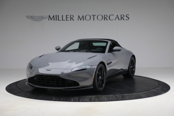 New 2021 Aston Martin Vantage Roadster for sale $180,286 at Rolls-Royce Motor Cars Greenwich in Greenwich CT 06830 21