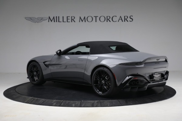 New 2021 Aston Martin Vantage Roadster for sale $180,286 at Rolls-Royce Motor Cars Greenwich in Greenwich CT 06830 23