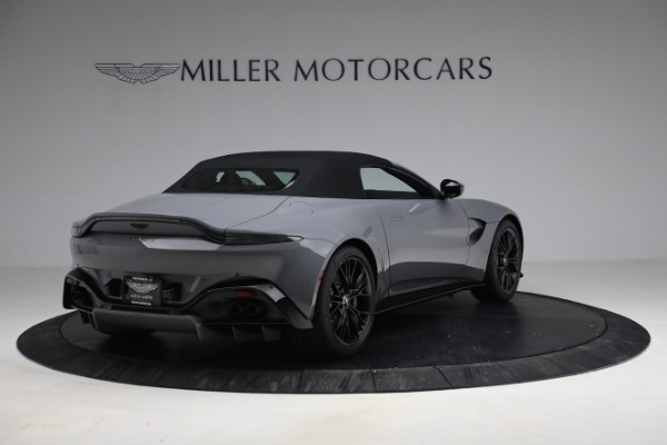 New 2021 Aston Martin Vantage Roadster for sale $180,286 at Rolls-Royce Motor Cars Greenwich in Greenwich CT 06830 25