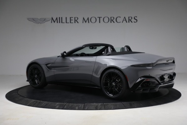 New 2021 Aston Martin Vantage Roadster for sale $180,286 at Rolls-Royce Motor Cars Greenwich in Greenwich CT 06830 3