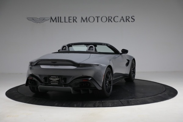 New 2021 Aston Martin Vantage Roadster for sale $180,286 at Rolls-Royce Motor Cars Greenwich in Greenwich CT 06830 6