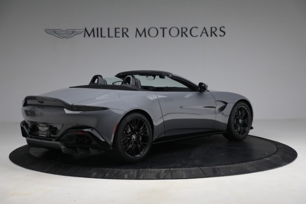 New 2021 Aston Martin Vantage Roadster for sale $180,286 at Rolls-Royce Motor Cars Greenwich in Greenwich CT 06830 7