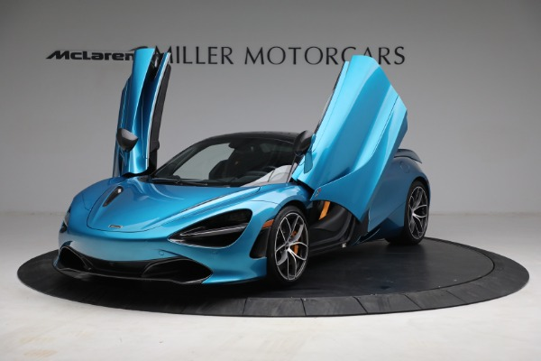 Used 2020 McLaren 720S Spider for sale $349,900 at Rolls-Royce Motor Cars Greenwich in Greenwich CT 06830 22