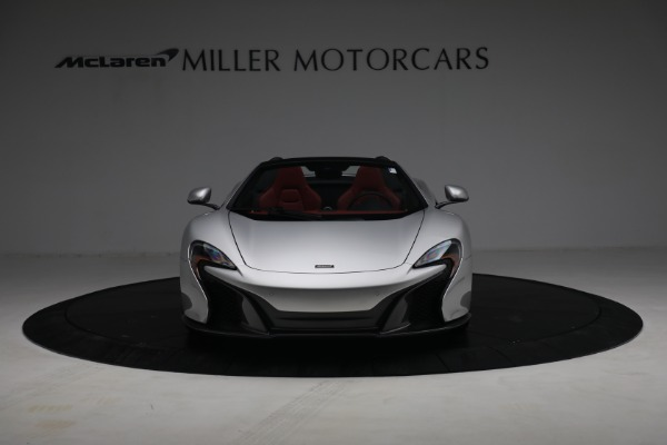 Used 2015 McLaren 650S Spider for sale $179,990 at Rolls-Royce Motor Cars Greenwich in Greenwich CT 06830 11