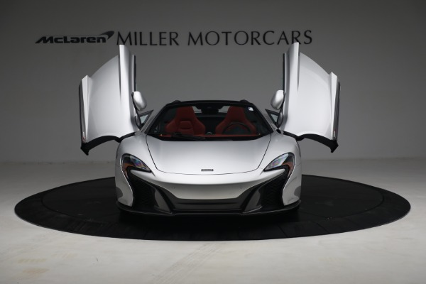 Used 2015 McLaren 650S Spider for sale $179,990 at Rolls-Royce Motor Cars Greenwich in Greenwich CT 06830 12
