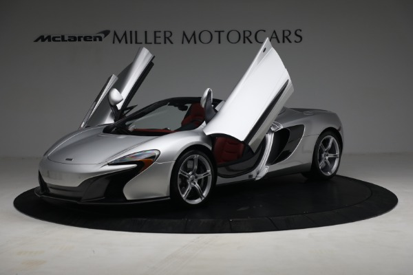 Used 2015 McLaren 650S Spider for sale $179,990 at Rolls-Royce Motor Cars Greenwich in Greenwich CT 06830 13