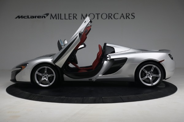 Used 2015 McLaren 650S Spider for sale $179,990 at Rolls-Royce Motor Cars Greenwich in Greenwich CT 06830 14