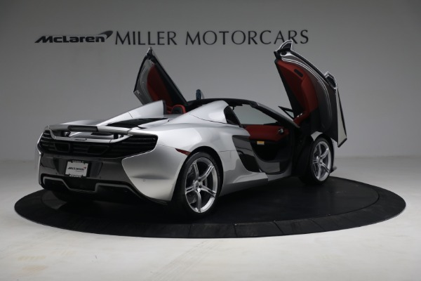 Used 2015 McLaren 650S Spider for sale $179,990 at Rolls-Royce Motor Cars Greenwich in Greenwich CT 06830 17