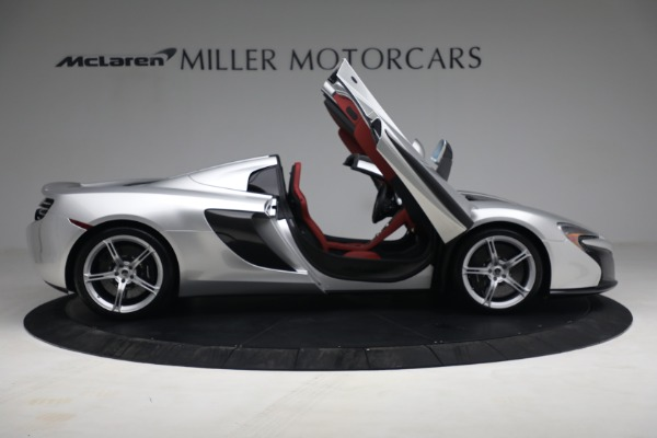 Used 2015 McLaren 650S Spider for sale $179,990 at Rolls-Royce Motor Cars Greenwich in Greenwich CT 06830 18